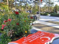 Şehit öğretmen Aybüke Yalçın Çorum'daki mezarı başında anıldı