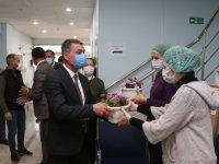 Başkan Şimşek'ten filyasyon ekibine ziyaret