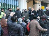 Avusturya'da taksicilerden hükümet karşısı protesto