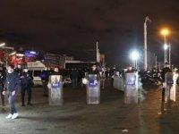Taksim'de kadına şiddet eylemi