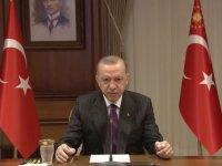 """Cumhurbaşkanı Erdoğan, 4. Uluslararası Kadın ve Adalet Zirvesi""""ne katıldı"""