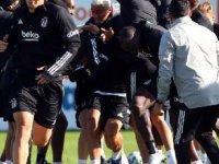Beşiktaş'ta Hasic ve Welinton takımla çalıştı
