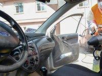 Altındağ'da araçlar düzenli olarak dezenfekte ediliyor