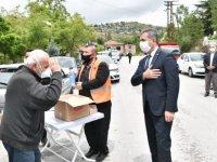 Mamak Belediyesi'nin maske duyarlılığı