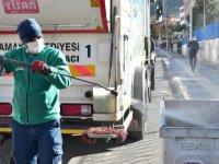 Koronavirüs temizliği devam ediyor