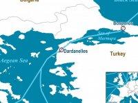 Bosphorus'un anlamı ne? Dardanelles'in anlamı ne?