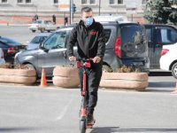 Sivas'ta, belediyeden elektrikli scooter hizmeti