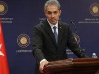 Dışişleri Sözcüsü Aksoy'dan Yunanistan'a mesaj: Türkiye ön koşulsuz diyaloğa açık yaklaşımını sürdürecektir