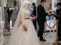 İstanbul'daki nikah salonlarında yoğunluk yaşanıyor
