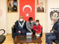 Muş'ta ikna çabaları sonucu teslim olan terörist ailesiyle buluşturuldu