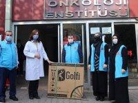 Türkiye Diyanet Vakfı engellilere tekerlekli sandalye hediye etti