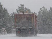 Beypazarı ve çevresinde kar yağışı etkisini gösterdi