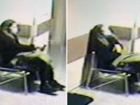 Sevgilisinin öldüğünü öğrenen kadının hastanede intihar anı kamerada