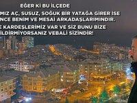 Başkan Çetin'den anlamlı çağrı