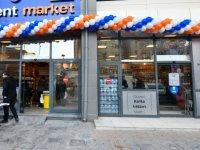 Başkent Market'lerin 4. şubesi Kızılay'da açıldı