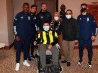 Fenerbahçeli genç taraftarın hayali gerçekleşti