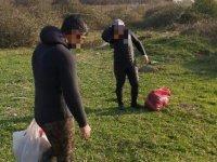 İzmit Körfezi'nde kaçak balık ve midye avcısı 10 kişi yakalandı
