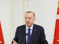 Erdoğan: Salgın çeşitli sıkıntılar getirse de iş dünyamızın önünde yeni fırsat pencereleri de açıyor