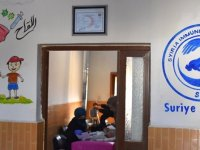 Barış Pınarı Harekatı bölgesinde çocuk felcine karşı 2. aşı kampanyası başlatıldı