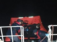 Bodrum'da 5 kaçak göçmen kurtarıldı