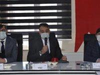 Bitlis'te, Afet Risk Azaltma Planı toplantısı