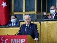 MHP Genel Başkanı Bahçeli: Son zamanlardaki saldırılarla ülkücü hareket arasında bağ kurmak zorlama bir isnattır