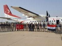 25 MSB personeli NATO Irak Misyonu'nda görev yapmak üzere Irak'a gitti