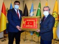Başkan Oğuz, Rektör Ünüvar'ı ağırladı
