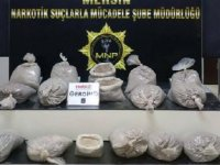 Mersin polisi, bir yılda 308 kilo kokain ele geçirdi