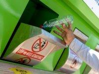 1 yılda 2571 ton atık toplandı