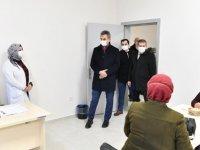 Başkan Köse, tesiste incelemelerde bulundu