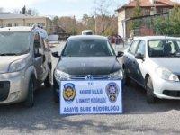 Kayseri'de çalıntı otomobil çetesi çökertildi; çete lideri tutuklandı