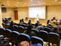 Belediye personeline iş sağlığı ve güvenliği semineri verildi