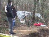Sarıyer'de ormanda define arayan 3 kişi yakalandı