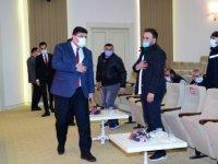 Kahramankazan Belediye Başkanı Serhat Oğuz, sanayi esnafıyla buluştu