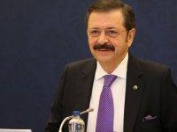TOBB Başkanı Hisarcıklıoğlu: Büyümenin sürdürülebilir olması için var gücümüzle çalışacağız