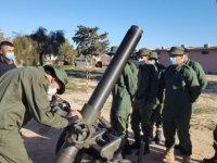 Milli Savunma Bakanlığı, Libyalı askerlere 'havan eğitimi' verdi