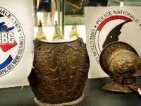 Louvre Müzesi'ndeki kayıp zırh ve miğfer 38 yıl sonra bulundu