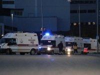 Bitlis'te helikopter kazasında şehit olan 11 askeri personelin naaşı Elazığ'a getirildi