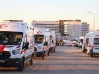 Bitlis'te helikopter kazasında şehit olan 11 askerin naaşı Elazığ'a getirildi
