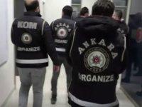 Ankara merkezli 4 ilde suç örgütü operasyonu: 33 gözaltı