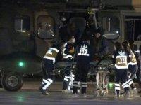 Eskişehir'de dağda mahsur kalan 4 kişi, askeri helikopterle kurtarıldı