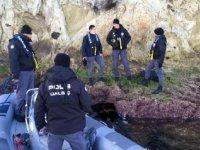 Kontrolden çıkan tekneden düşüp, kaybolan kişinin cesedine ulaşıldı