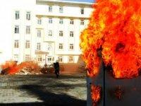 Sivas'ta deprem tatbikatı, gerçeğini aratmadı