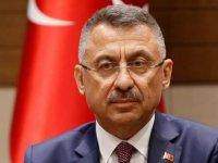 KKTC Başbakanı Saner'den Cumhurbaşkanı Yardımcısı Oktay'a taziye telefonu
