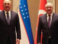 Dışişleri Bakanı Çavuşoğlu: Özbekistan'ın reform sürecine desteğimiz devam edecek