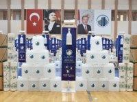 Altındağ'daki 303 camiye temizlik ve hijyen seti dağıtıldı