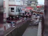 Ankara'da 2 katlı binanın kömürlüğünde patlama; karı- koca yaralandı
