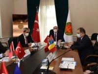 Yargıtay Başkanı Akarca, Güneydoğu Avrupa ülkelerinden gelen savcılarla görüştü
