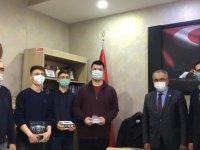 Kızılcahamam Belediyesi'nden öğrencilere destek